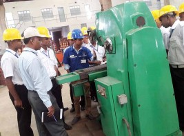 OMA Students Visit Various Training Center