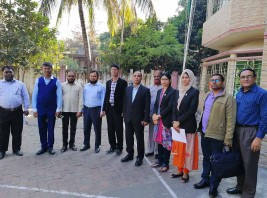 Controller of Maritime Education visiting Ocean Maritime Campus